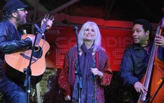 Daniel Lanois and Emmy Lou Harris